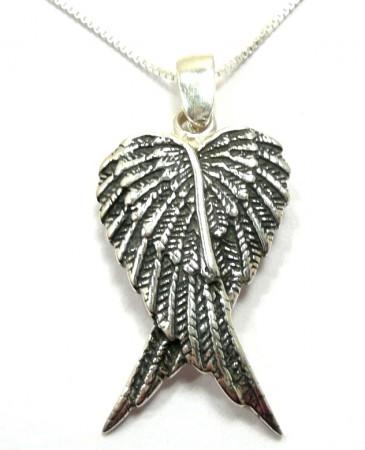 Halssmykker med englevinger